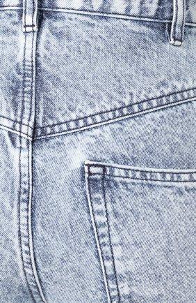 Джинсы прямого кроя Isabel Marant светло-голубые | Фото №5