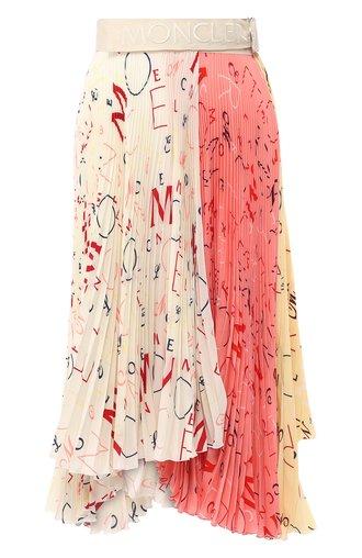 Шелковая юбка Moncler 1952