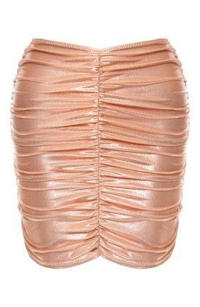 Мини-юбка с драпировкой | Фото №1