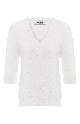 Пуловер из смеси хлопка и шелка   Фото №1