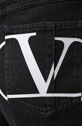 Джинсовые шорты Valentino черные | Фото №5