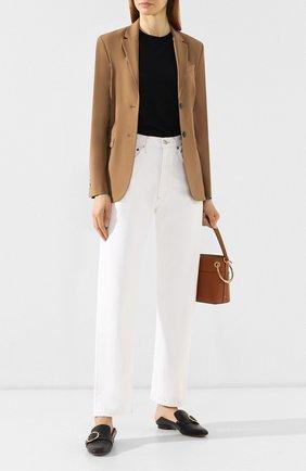 Женские джинсы прямого кроя AGOLDE белого цвета, арт. A069-1083   Фото 2