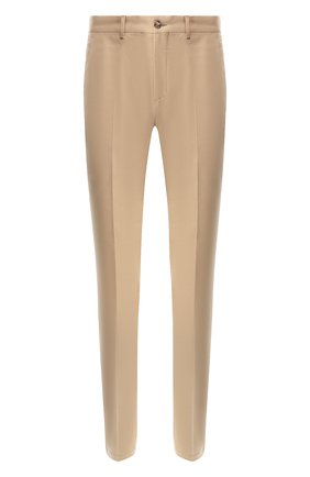 Мужские хлопковые брюки RALPH LAUREN бежевого цвета, арт. 790588859 | Фото 1 (Статус проверки: Проверена категория, Проверено; Материал внешний: Хлопок; Длина (брюки, джинсы): Стандартные; Случай: Повседневный)