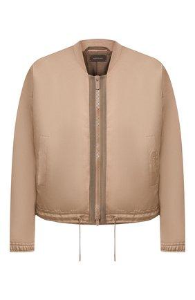 Куртка из смеси хлопка и льна | Фото №1