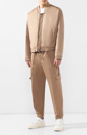 Куртка из смеси хлопка и льна | Фото №2