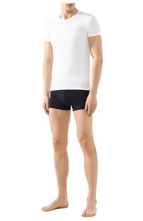 Мужские футболка ERMENEGILDO ZEGNA белого цвета, арт. N3M200780 | Фото 2