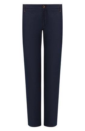 Мужские джинсы прямого кроя ZILLI темно-синего цвета, арт. MCR-00240-DELX1/S001 | Фото 1