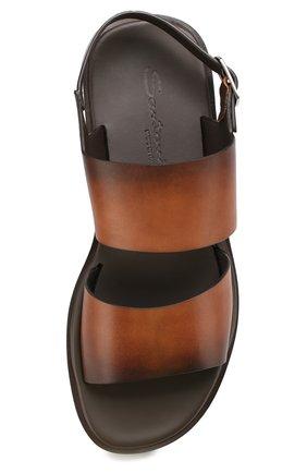 Кожаные сандалии   Фото №5