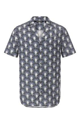 Рубашка из смеси вискозы и хлопка   Фото №1