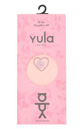 Детские колготки party collection 30 den YULA розового цвета, арт. YU-79 | Фото 1