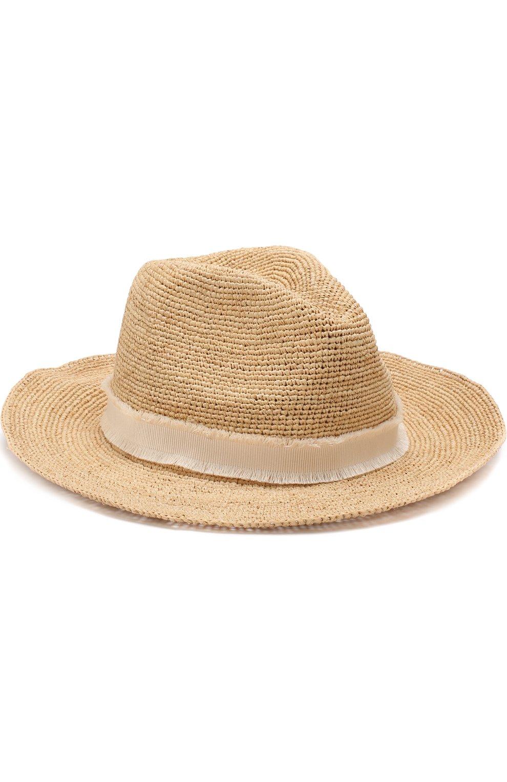 Соломенная шляпа с лентой   Фото №1
