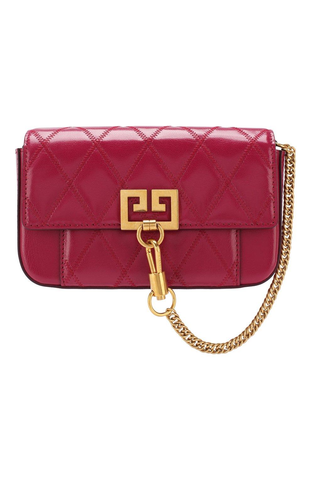 Поясная сумка Pocket Givenchy фиолетовая | Фото №1