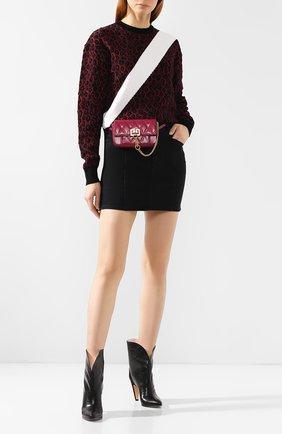 Поясная сумка Pocket Givenchy фиолетовая | Фото №2