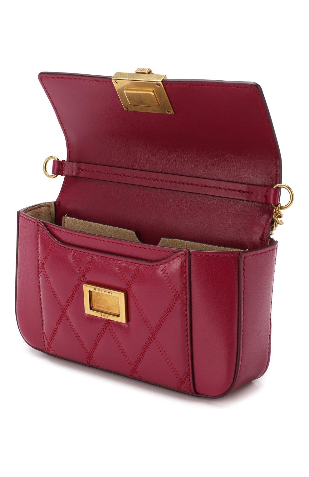 Поясная сумка Pocket Givenchy фиолетовая | Фото №4