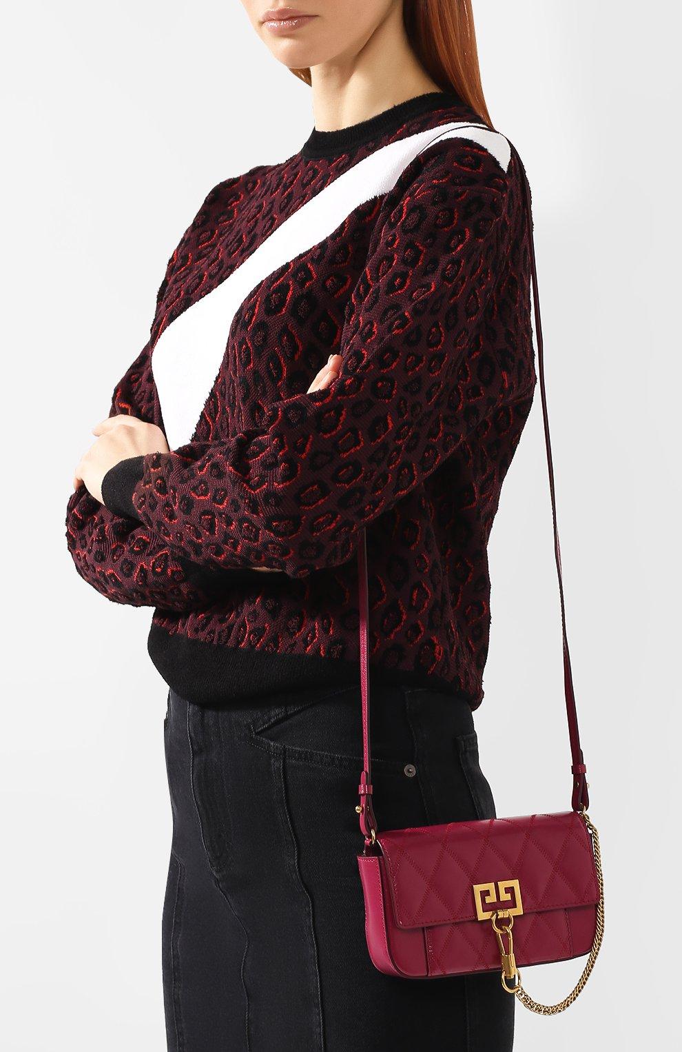 Поясная сумка Pocket Givenchy фиолетовая | Фото №5