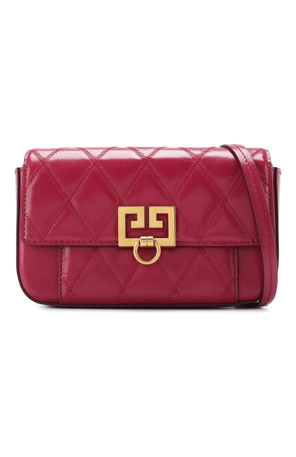 Поясная сумка Pocket Givenchy фиолетовая | Фото №6