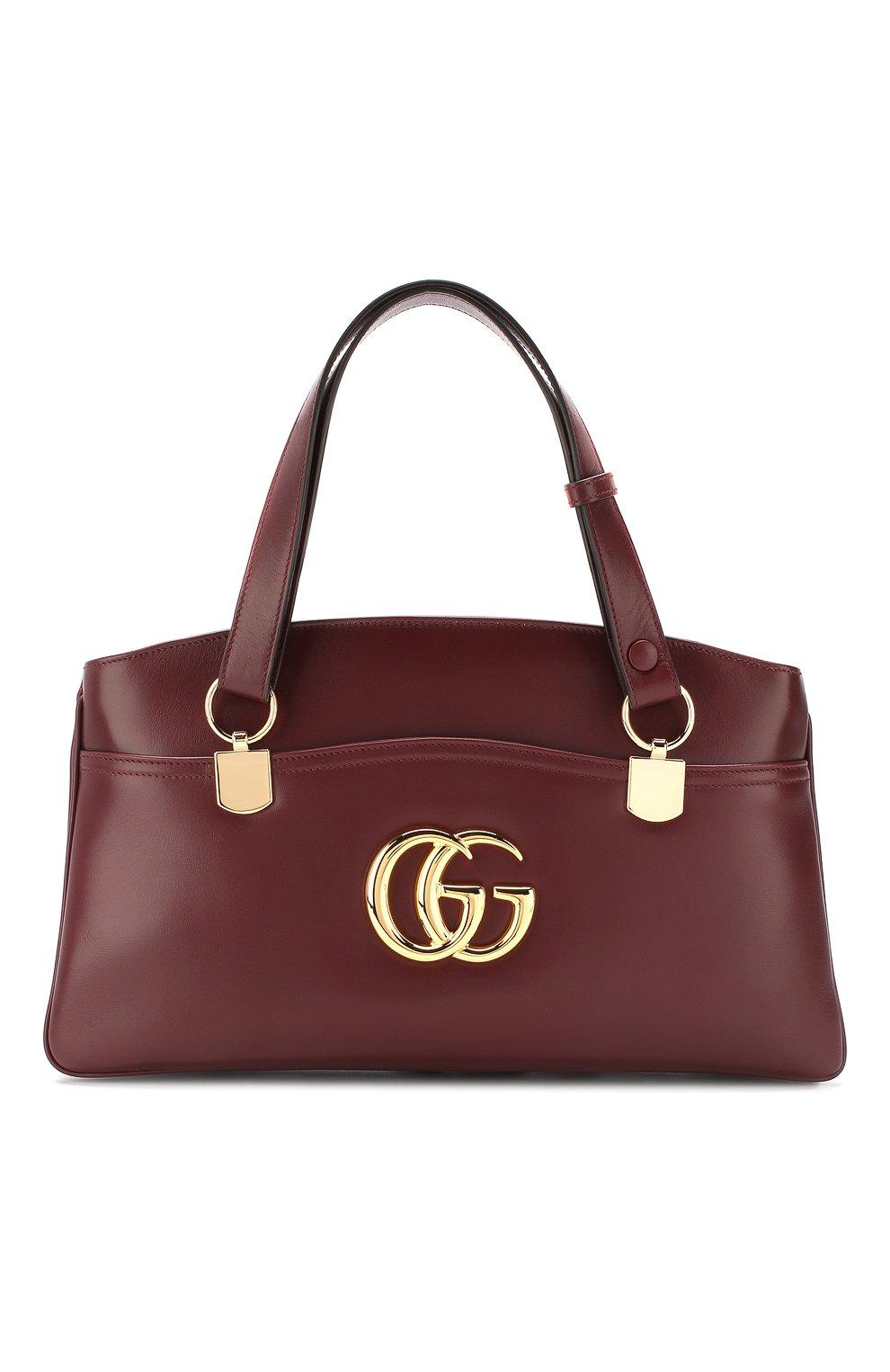 Сумка Arli large Gucci  бордовая цвета | Фото №1