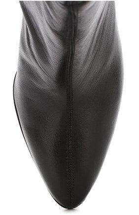 Кожаные ботильоны GV3 Givenchy черные | Фото №5