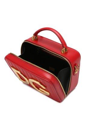 Сумка DG Girls Dolce & Gabbana красная цвета | Фото №4