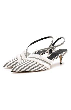 Текстильные туфли Emma | Фото №1