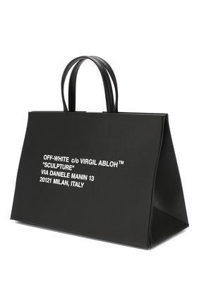 Сумка Box Off-White черная цвета | Фото №3