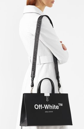 Сумка Box Off-White черная цвета | Фото №5