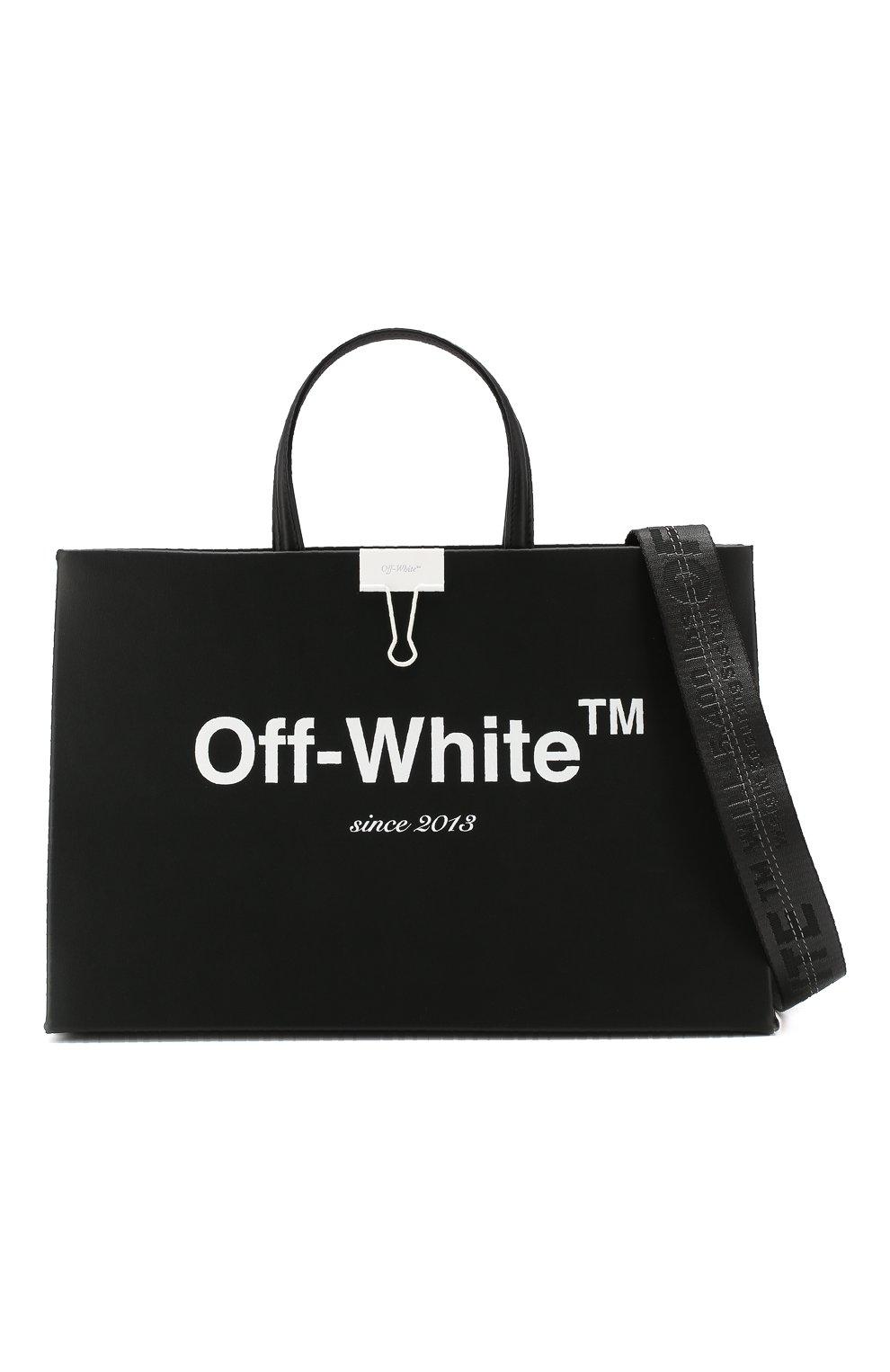Сумка Box Off-White черная цвета | Фото №6
