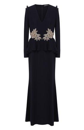 Платье с декоративной отделкой | Фото №1