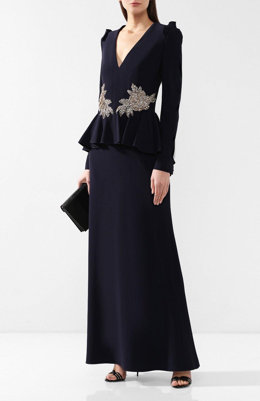 Платье с декоративной отделкой | Фото №2