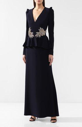 Платье с декоративной отделкой | Фото №3