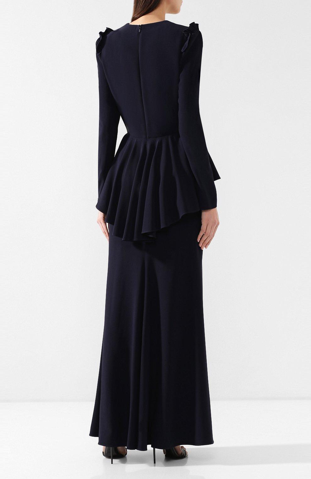 Платье с декоративной отделкой | Фото №4