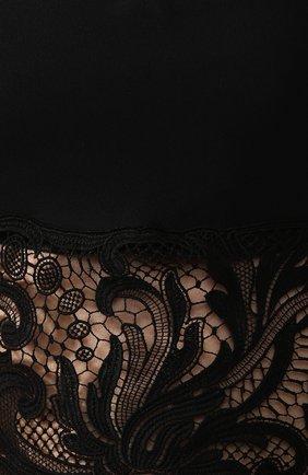 Кроп-топ Versace черный   Фото №5