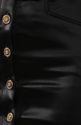 Юбка-карандаш Versace черная | Фото №5