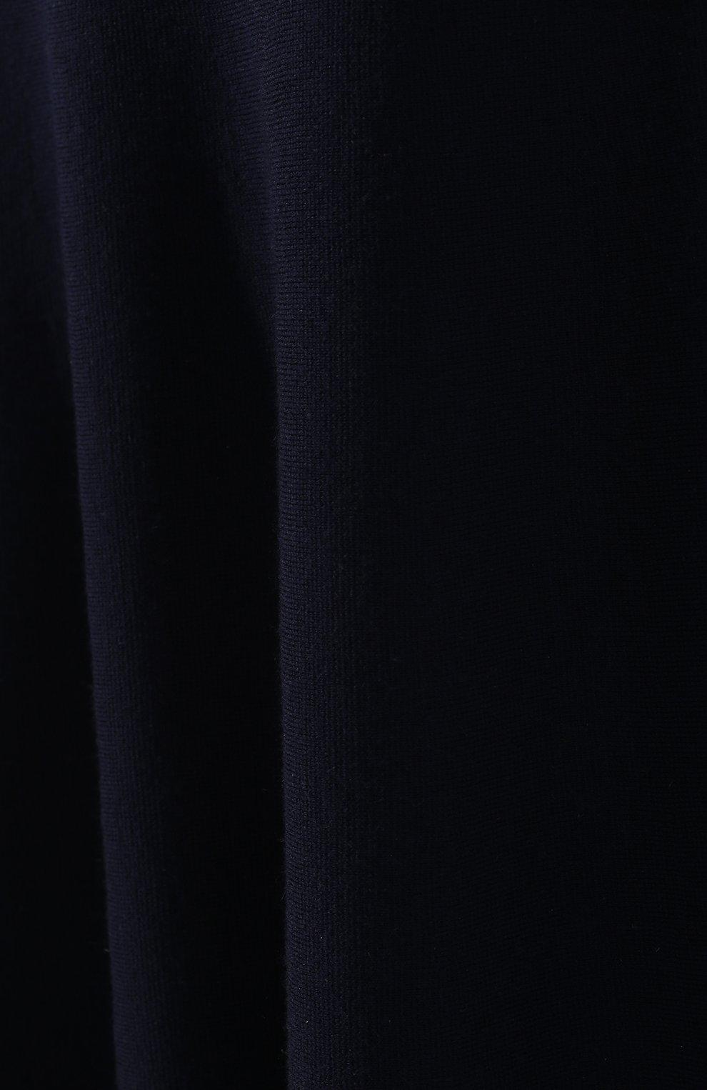 Шерстяная юбка Gabriela Hearst темно-синяя | Фото №5
