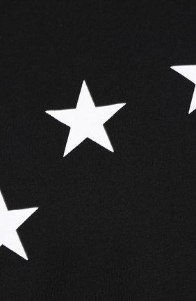 Хлопковая футболка  Études черная | Фото №5