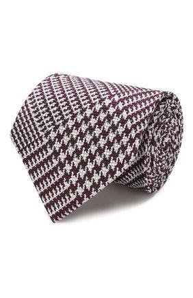 Мужской шелковый галстук TOM FORD фиолетового цвета, арт. 5TF54/XTF   Фото 1