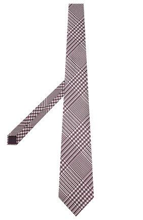 Мужской шелковый галстук TOM FORD фиолетового цвета, арт. 5TF54/XTF   Фото 2