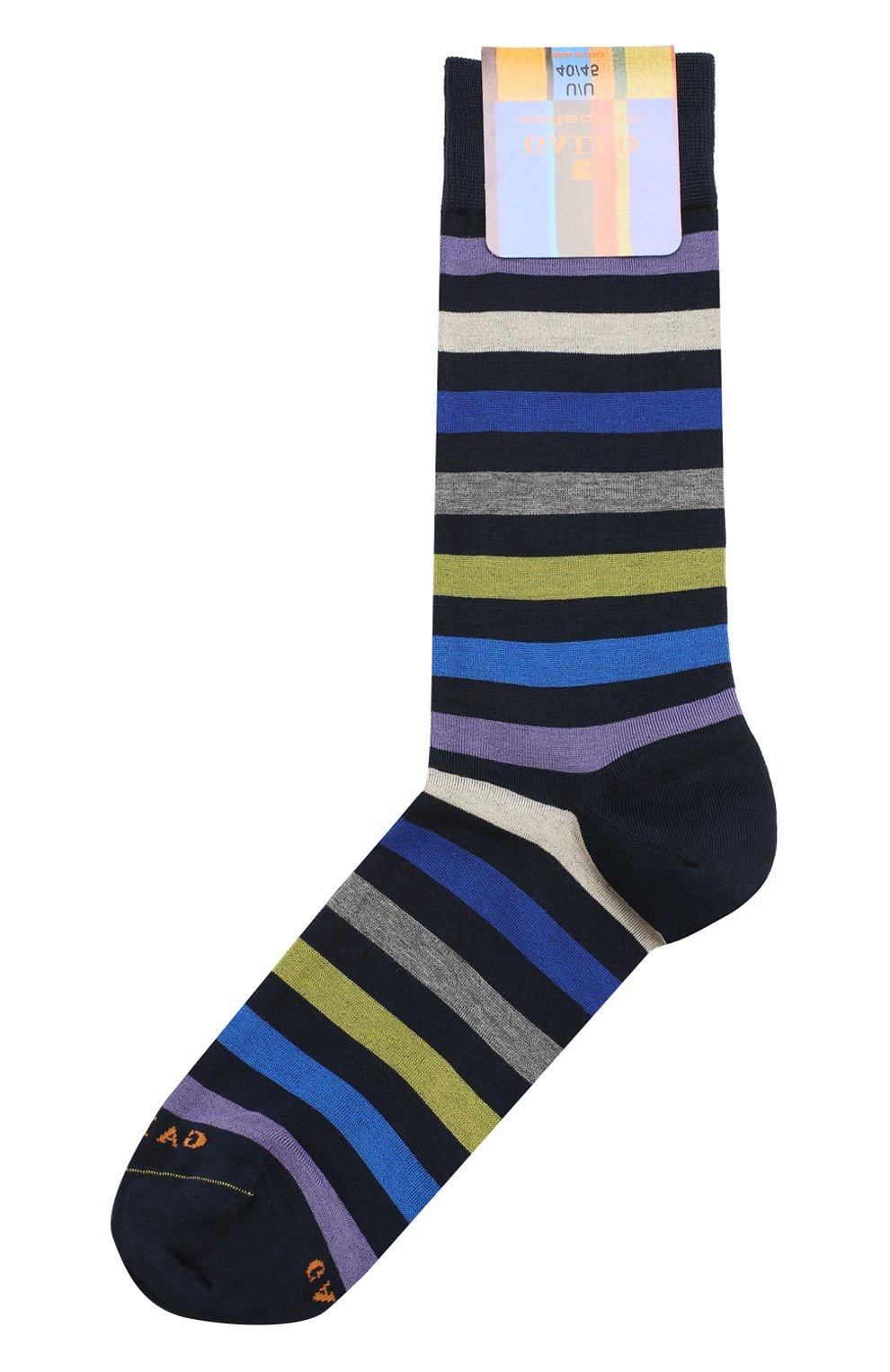 Мужские хлопковые носки GALLO черного цвета, арт. AP103161 | Фото 1