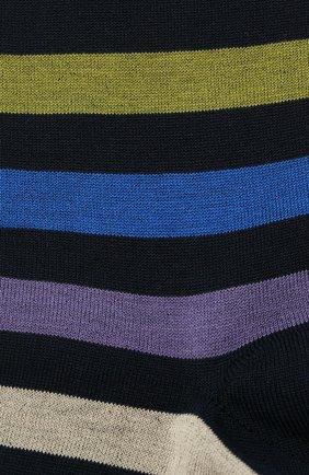 Мужские хлопковые носки GALLO черного цвета, арт. AP103161 | Фото 2