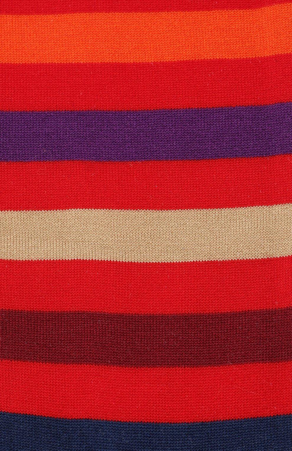 Хлопковые носки Gallo красные | Фото №2