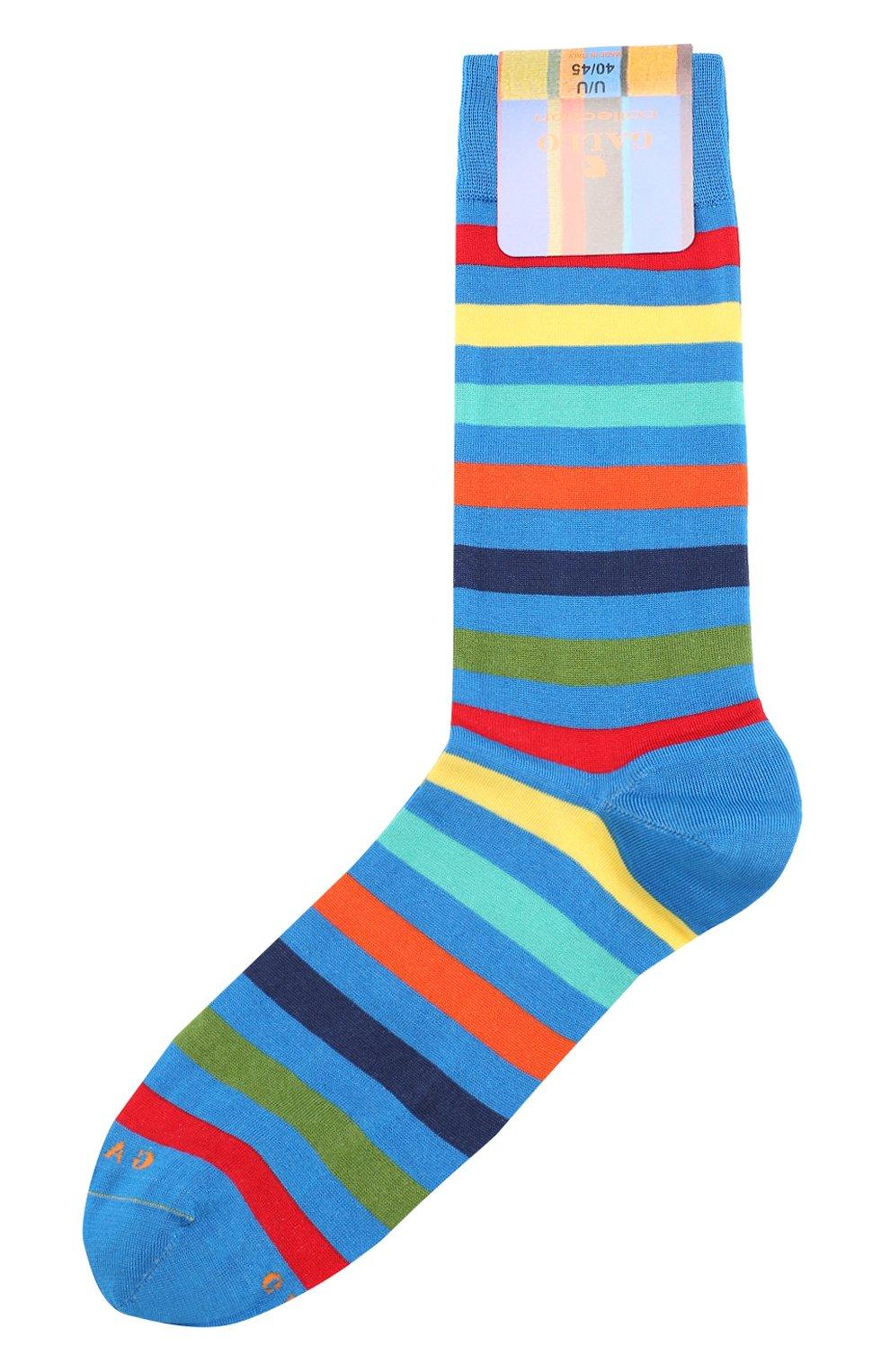Мужские хлопковые носки GALLO синего цвета, арт. AP103161 | Фото 1