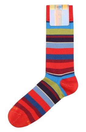Мужские хлопковые носки GALLO красного цвета, арт. AP103173 | Фото 1