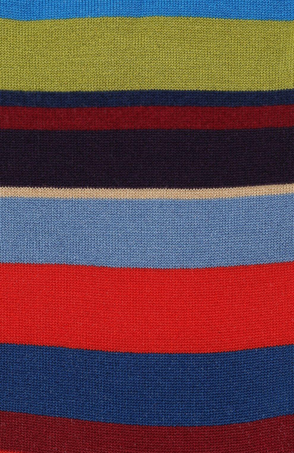 Мужские хлопковые носки GALLO красного цвета, арт. AP103173 | Фото 2
