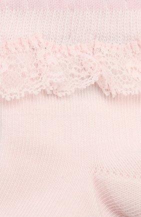 Детские хлопковые носки FALKE светло-розового цвета, арт. 12121 | Фото 2