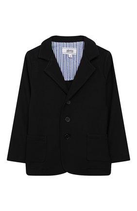 Детский пиджак из вискозы ALETTA темно-синего цвета, арт. RVE99378/1M-18M | Фото 1