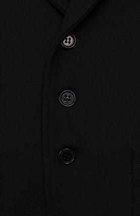 Детский пиджак из вискозы ALETTA темно-синего цвета, арт. RVE99378/1M-18M | Фото 3
