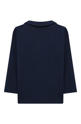 Детский пиджак из вискозы ALETTA синего цвета, арт. RVE99378/24M-4A | Фото 2