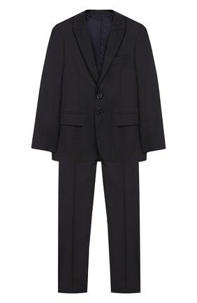 Костюм из шерстяного пиджака и брюк | Фото №1