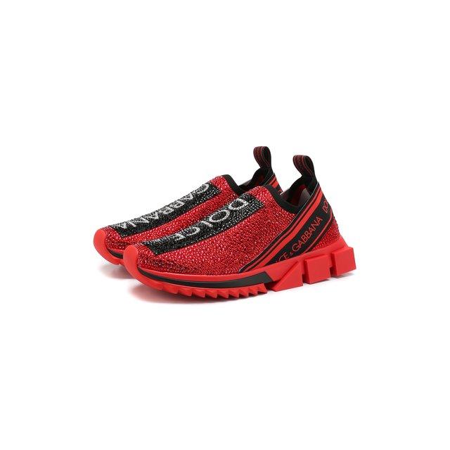Текстильные кроссовки Sorrento Dolce & Gabbana