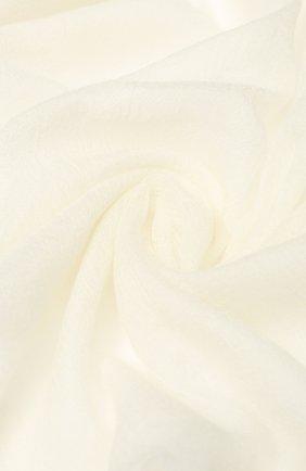 Мужские шарф из смеси кашемира и шелка FALIERO SARTI белого цвета, арт. E19 2027 | Фото 2